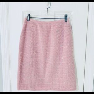 Chanel Pink Authentic Iconic Runway Fantasy Skirt